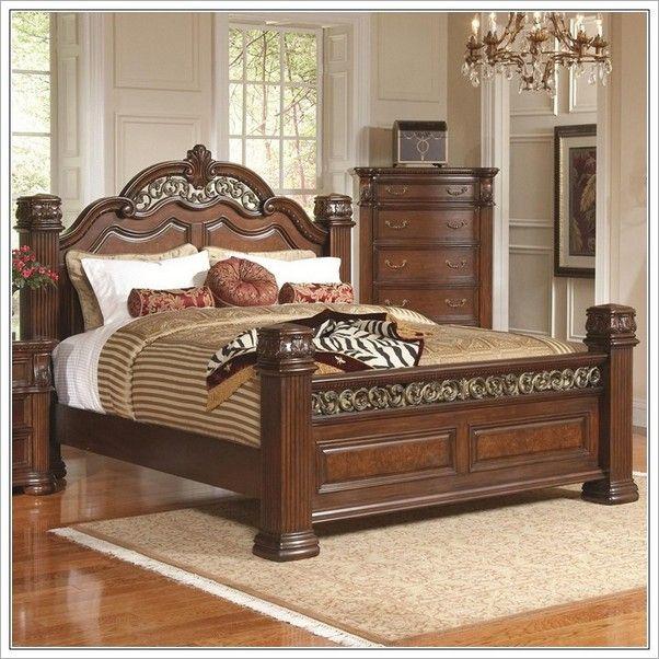 Fantastische King Size Bett Rahmen Und Kopfteil