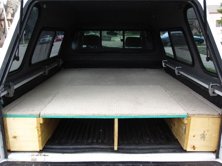 Tacoma Sleeping Platform Carpet Kit Camping Setup