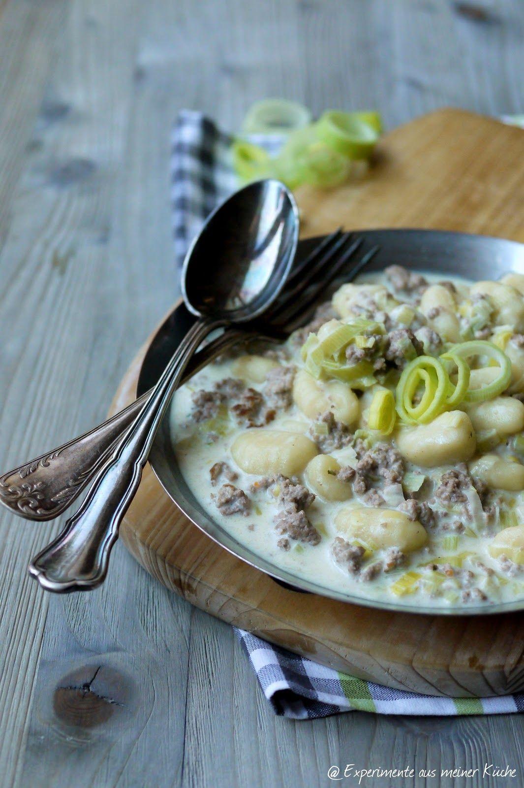 Gnocchi in Käse-Hackfleisch-Soße | Experimente aus meiner küche ...