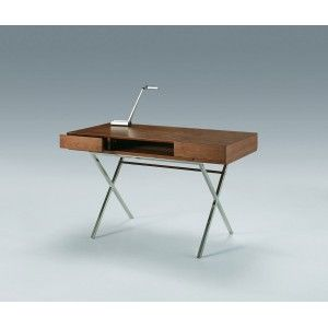 Bureau noyer inox by Marais International environ 1200 € , prix ...