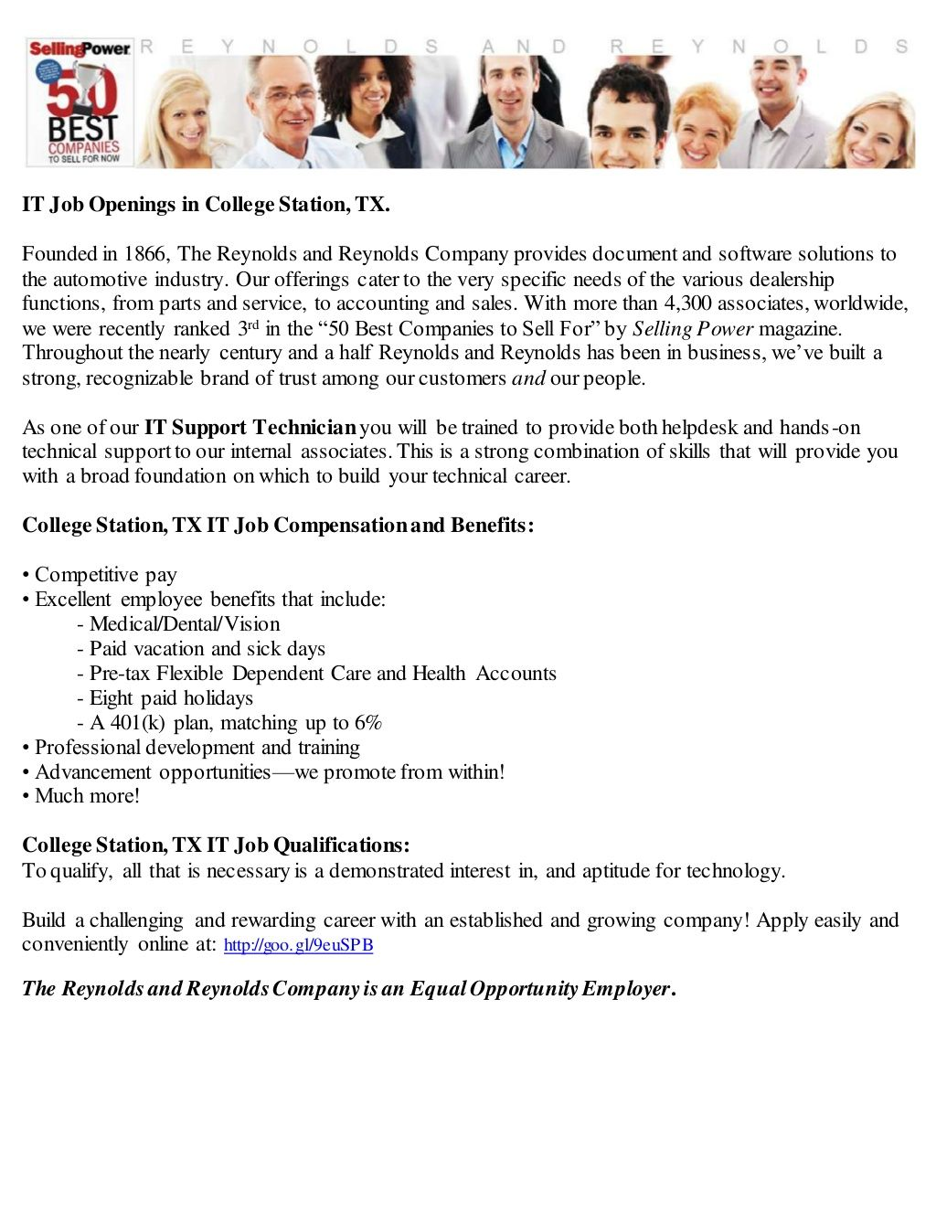 It jobs in college station tx customer service jobs