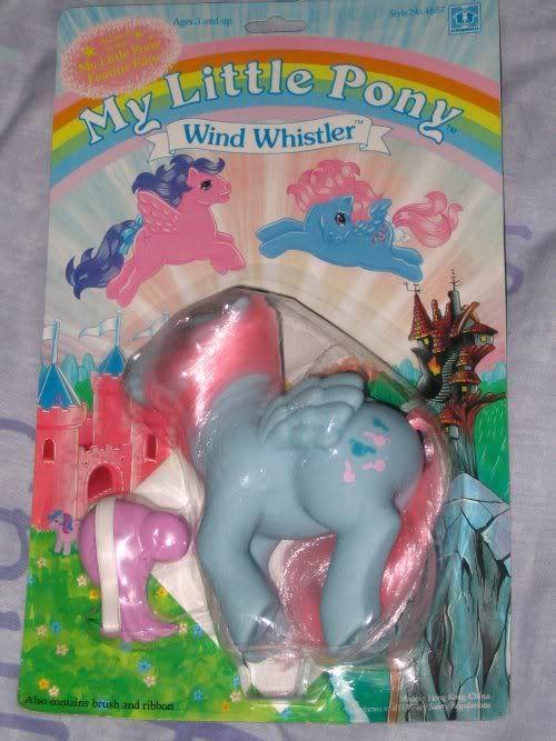My Little Pony G1 MOC NSS Wind Whistler