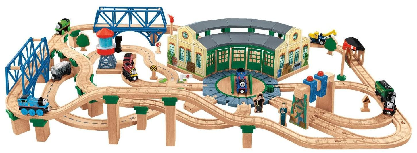 Fisher Price Thomas \u0026 Friends Wooden Railway Tidmouth Shed Deluxe ... Fisher Price Thomas Friends Wooden Railway Tidmouth Shed Deluxe  sc 1 st  Best Image Engine & Awesome Thomas The Train Wooden Table Set Contemporary - Best Image ...