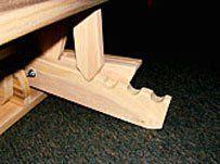 Amazoncom Trifold Hardwood Futon Frame Queen Size Futon