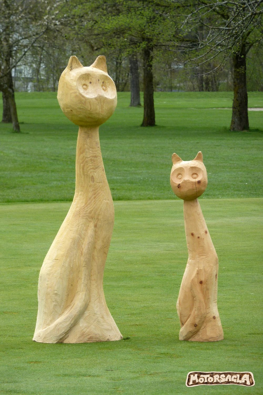 Katzenbande Catcontent Cat Katze Diy Almtal Schnitzkunst Kunst