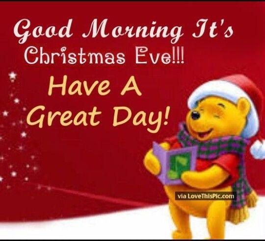 Pooh Bear Christmas Eve Images Merry Christmas Eve Quotes Christmas Eve Quotes
