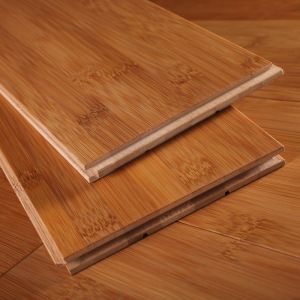 Enviromental Protection E0 Level 15mm Custom Carbonized Bamboo Flooring