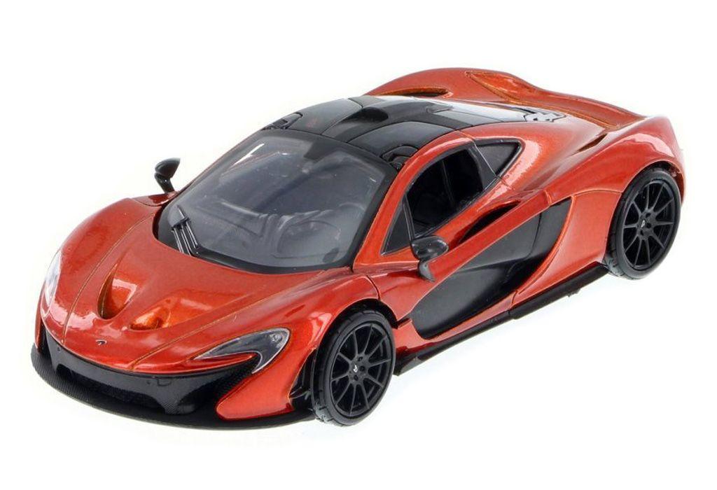 McLaren P1 orange 124 scale diecast model car by Motormax