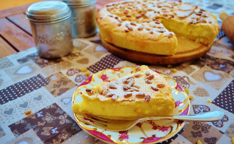 Torta della nonna.   #tortadellanonna #pasticceria #sweets #dolci #pastry #pasta #frolla #idee