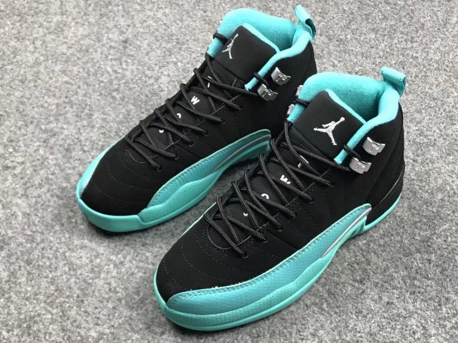 huge discount 6a935 e020c Men s Nike Air Jordan 12 Retro Hyper Jade 510815-017 Basketball Shoes