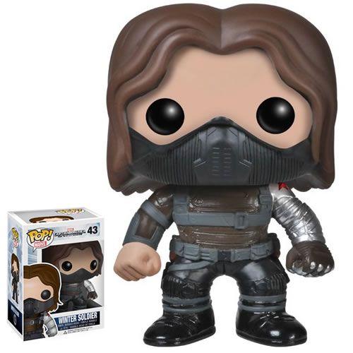 Bucky Barnes Captain America The Winter Soldier Funko Pop