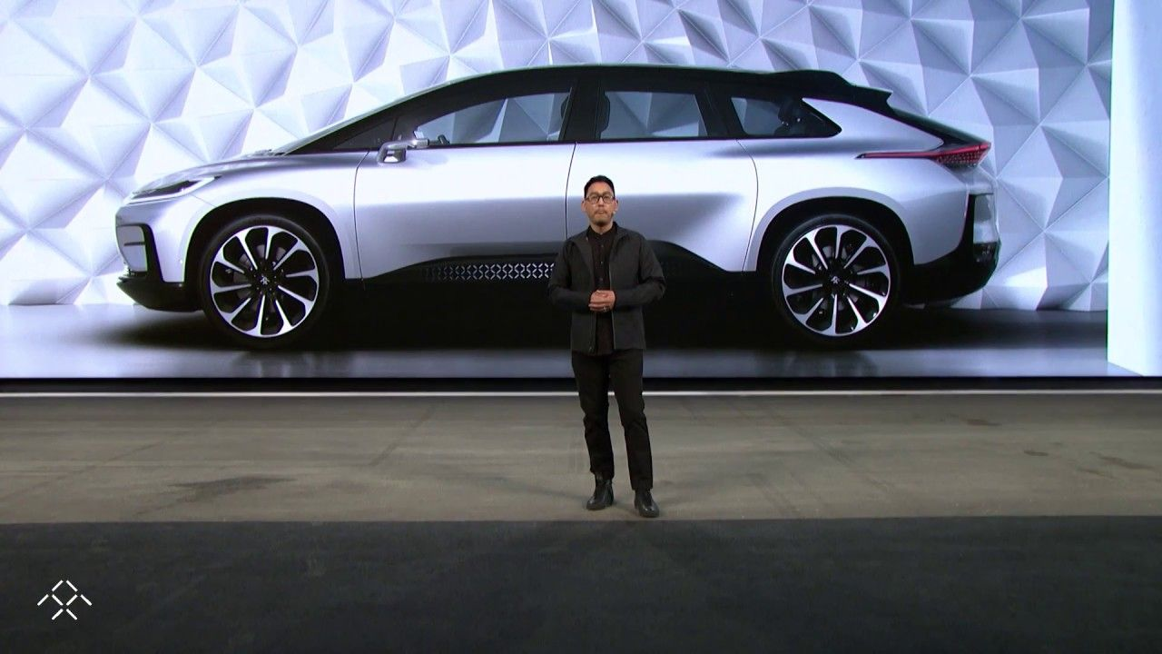 Faraday Future Ff 91 Ces 2017 Reveal Key Moments Youtube Faraday Future Top Cars Dream Cars