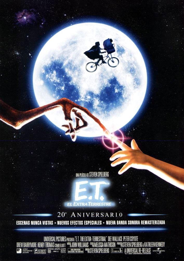 Cartel Español de E.T., el Extraterrestre Normal Movies