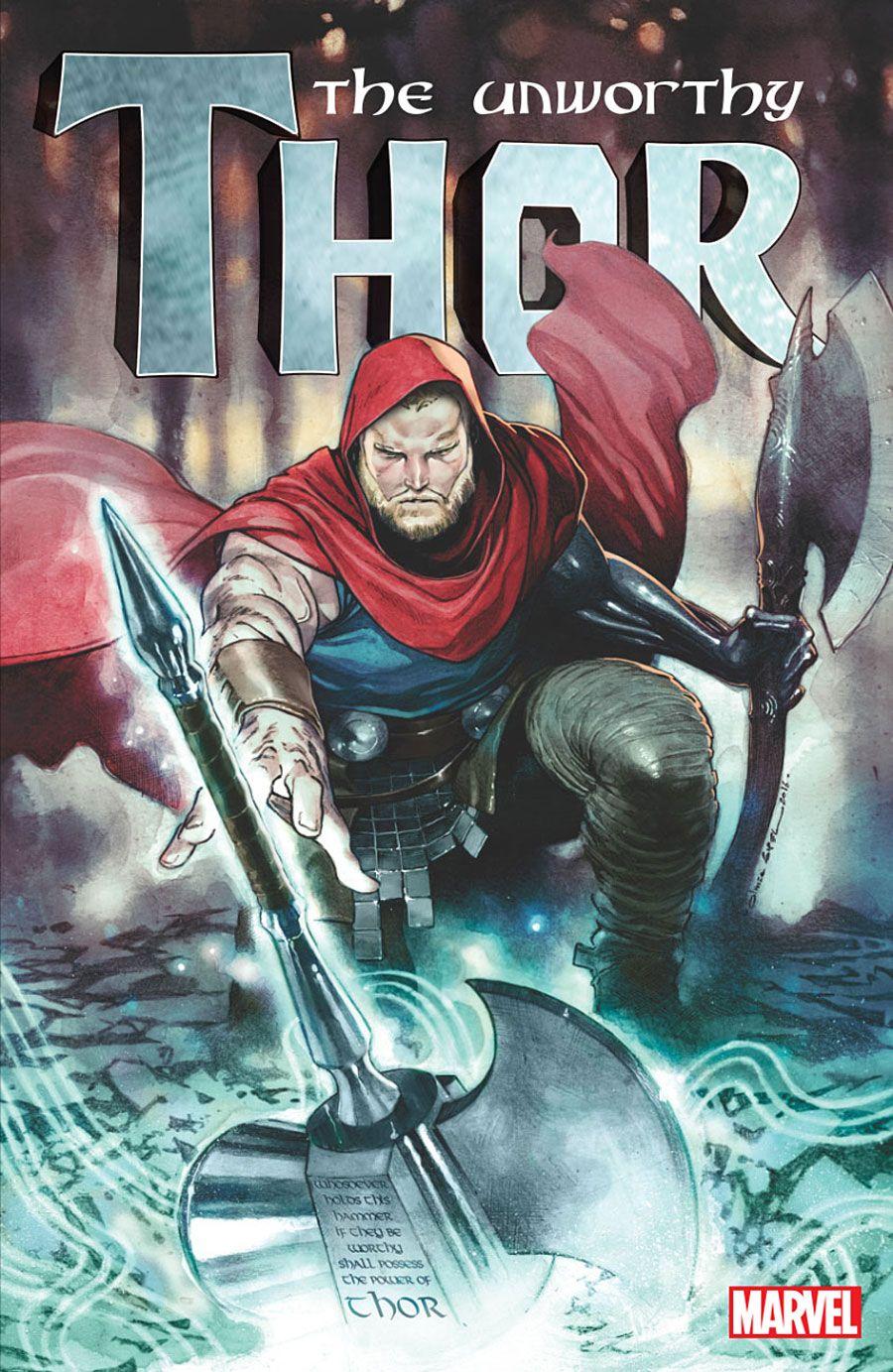 "Odinson's Future Unfolds In Marvel's ""Unworthy Thor"" by Aaron, Copiel"