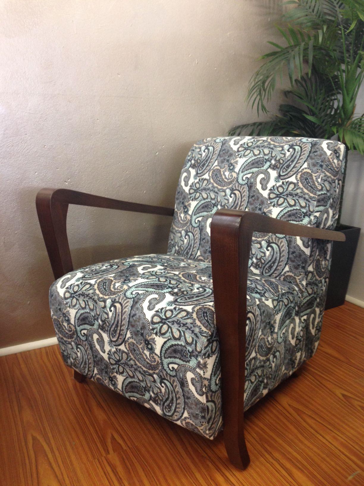 Australian Made 'Retro Chair'. Covered In Mehendi