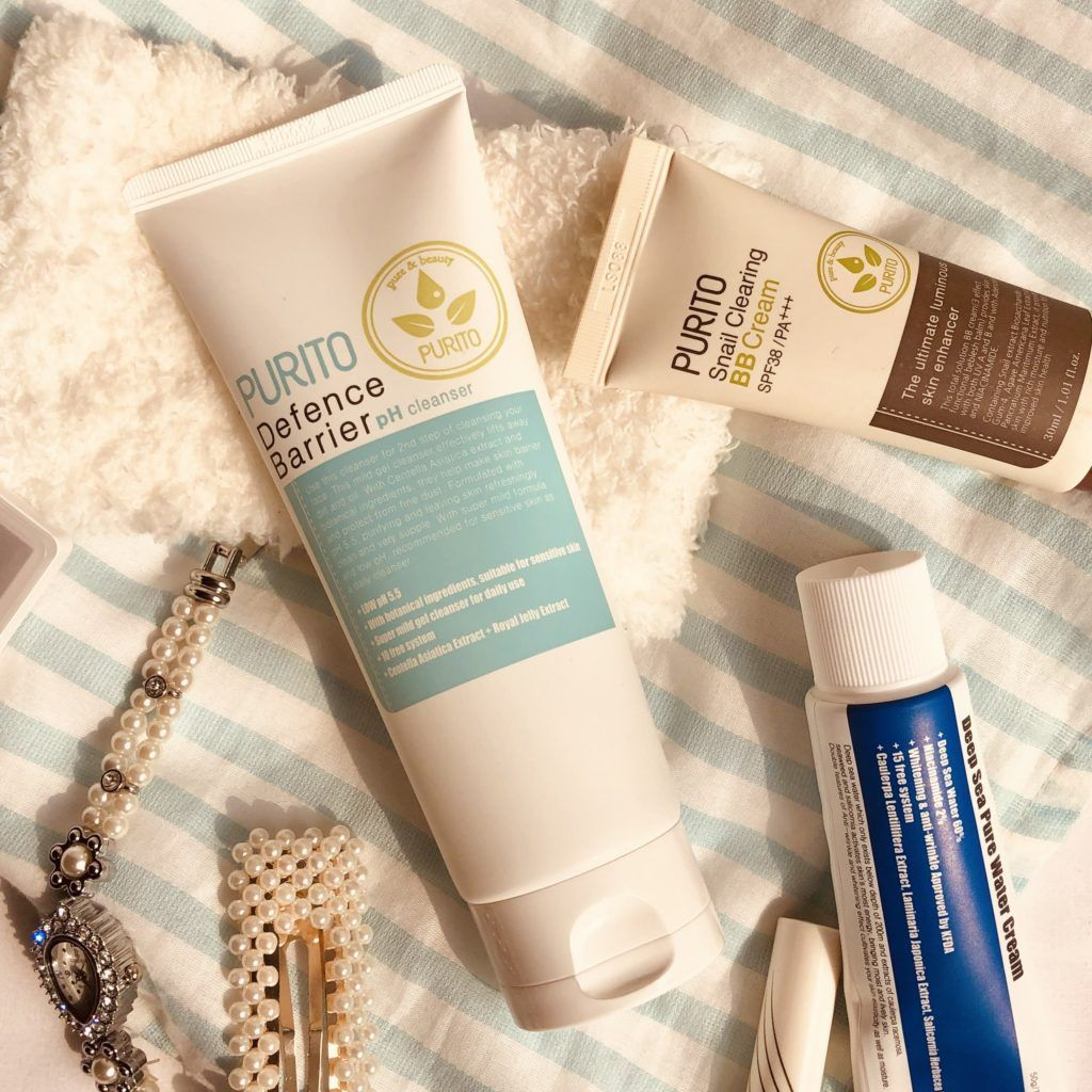 Purito Defence Barrier pH Cleanser Review Cleanser