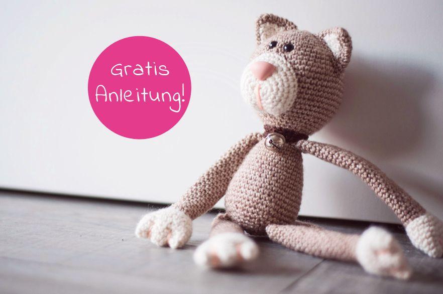 Photo of Häkeln Sie kuscheliges Spielzeug – Meow Little Kitty