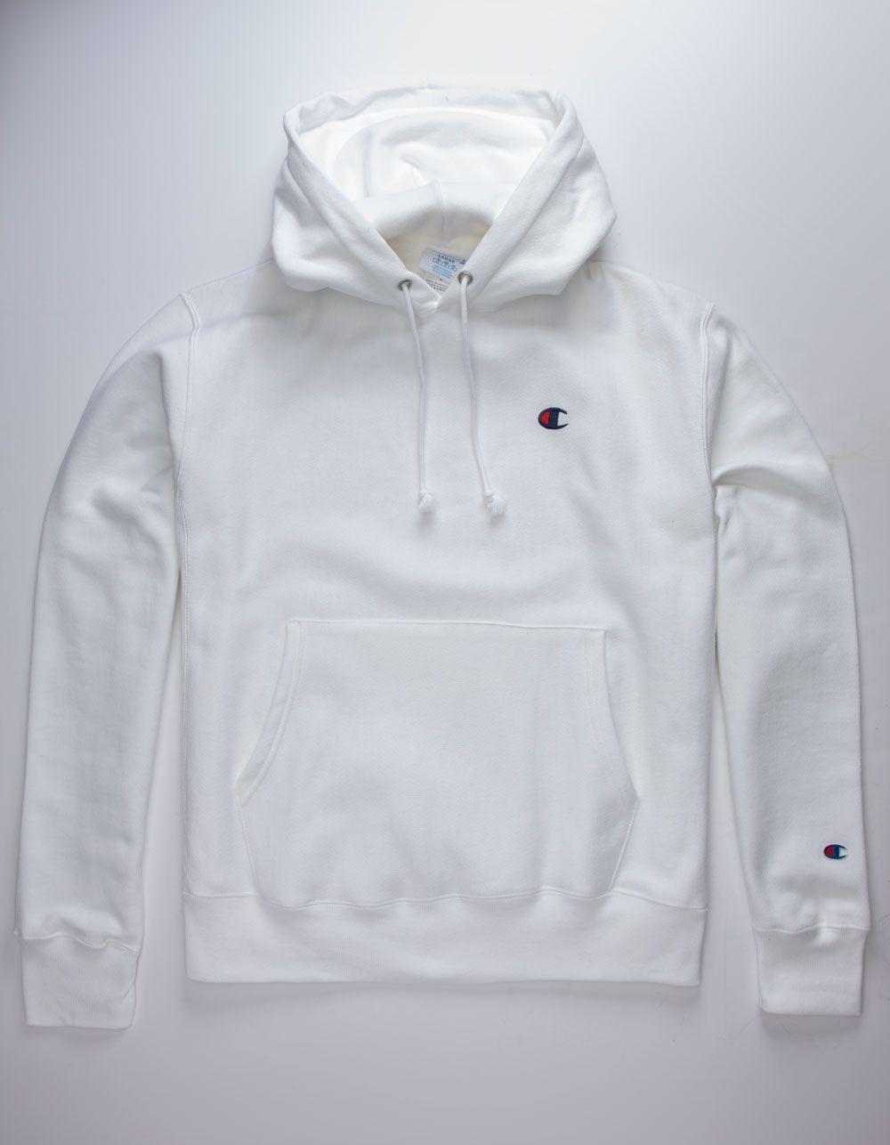 Champion Reverse Weave White Mens Hoodie White 335502150 White Hoodie Men Hoodies Champion Reverse Weave [ 1286 x 1000 Pixel ]