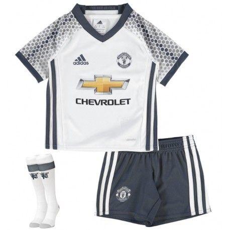 Camisetas del Manchester United para Niños Third 2016 2017