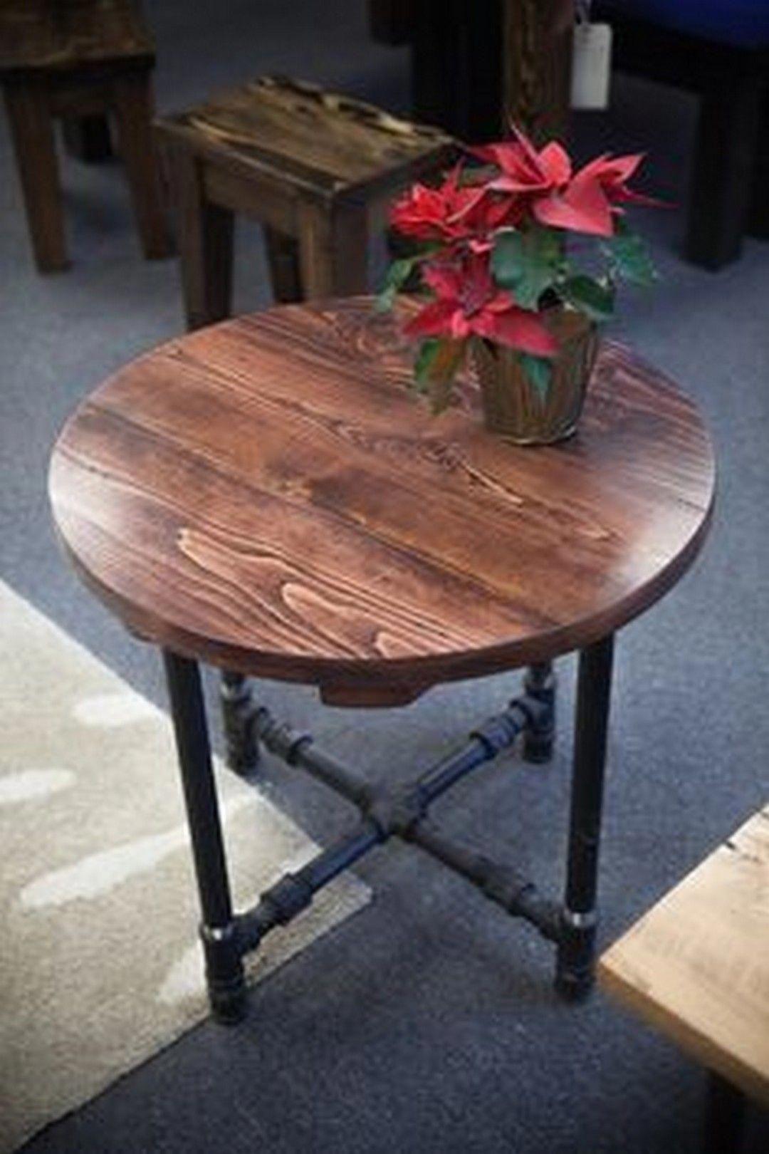 buildwoodtable Rustic end tables, Farmhouse end tables