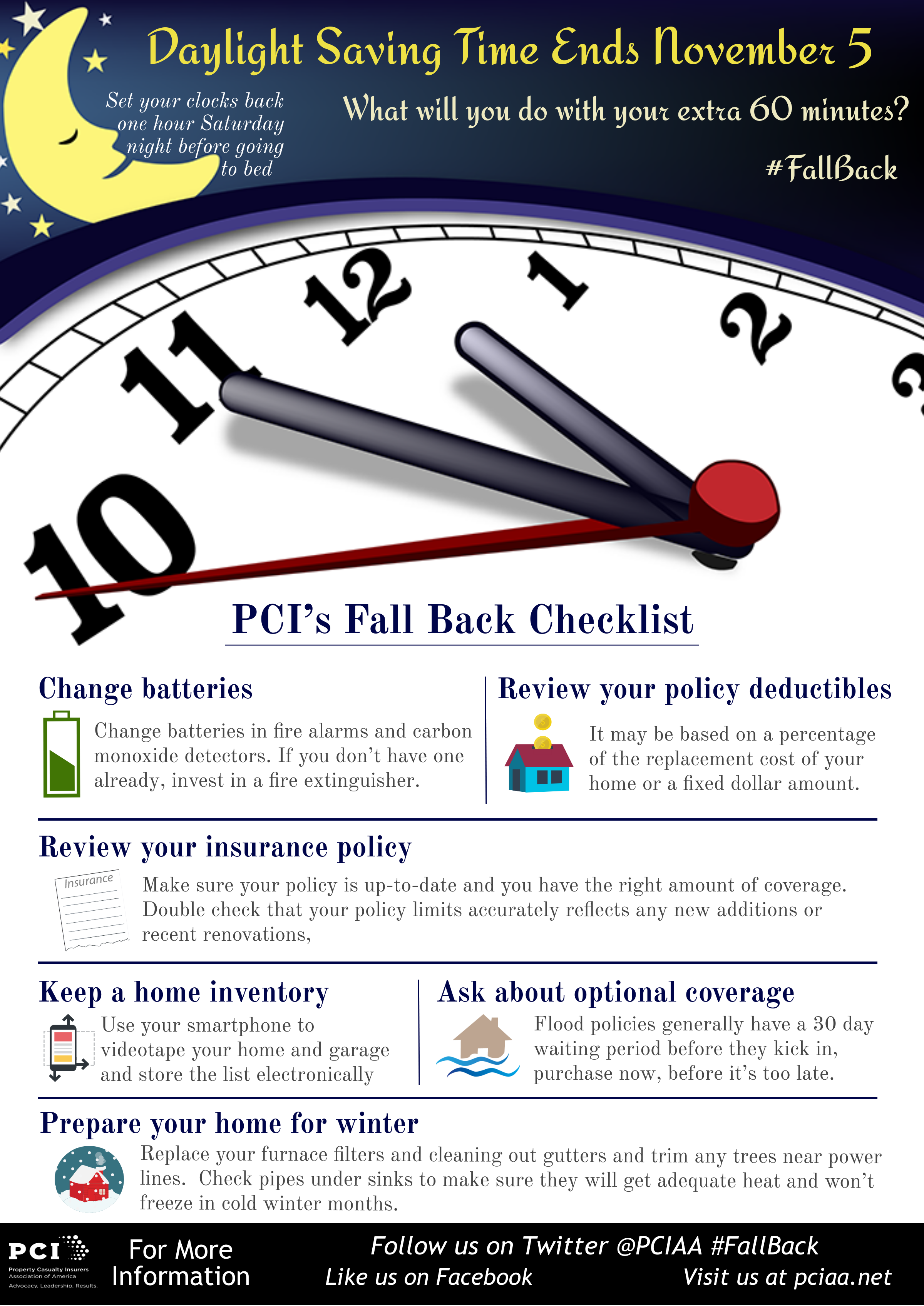 Pin By Danielle Surch On Holiday And Seasonal Infographics Daylight Saving Time Ends Daylight Savings Time Clocks Back