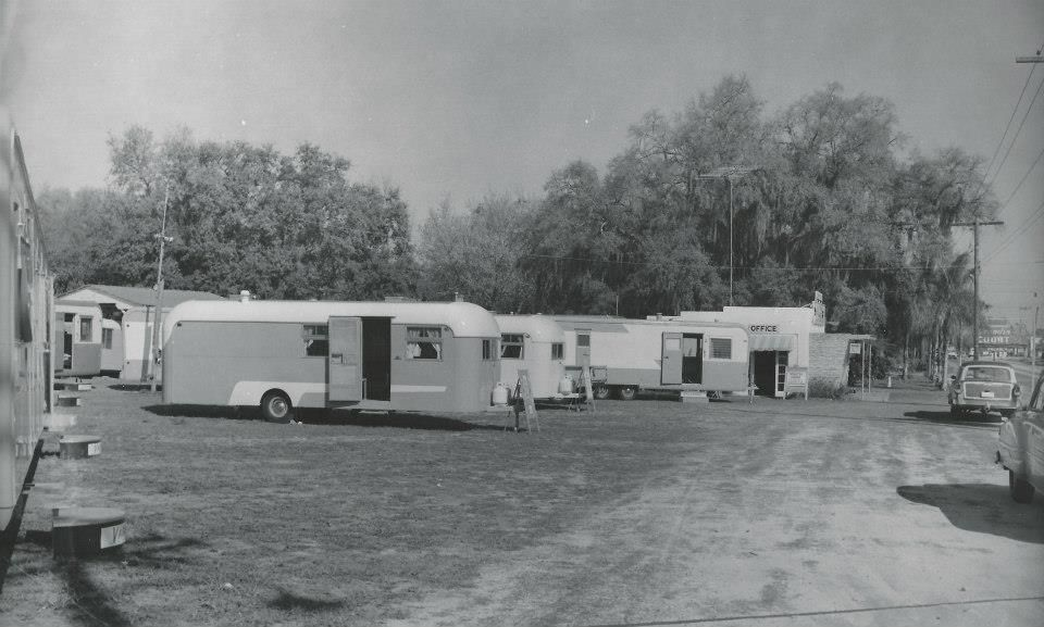 Vintage Trailer park, Vintage trailer, Vintage trailers