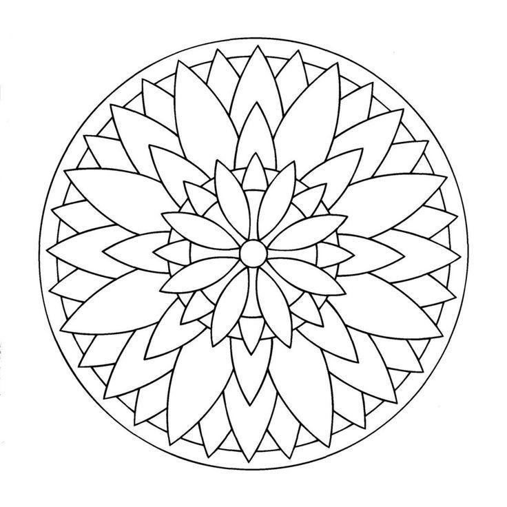 mandalas für kinder  miscl coloring pages  coloring