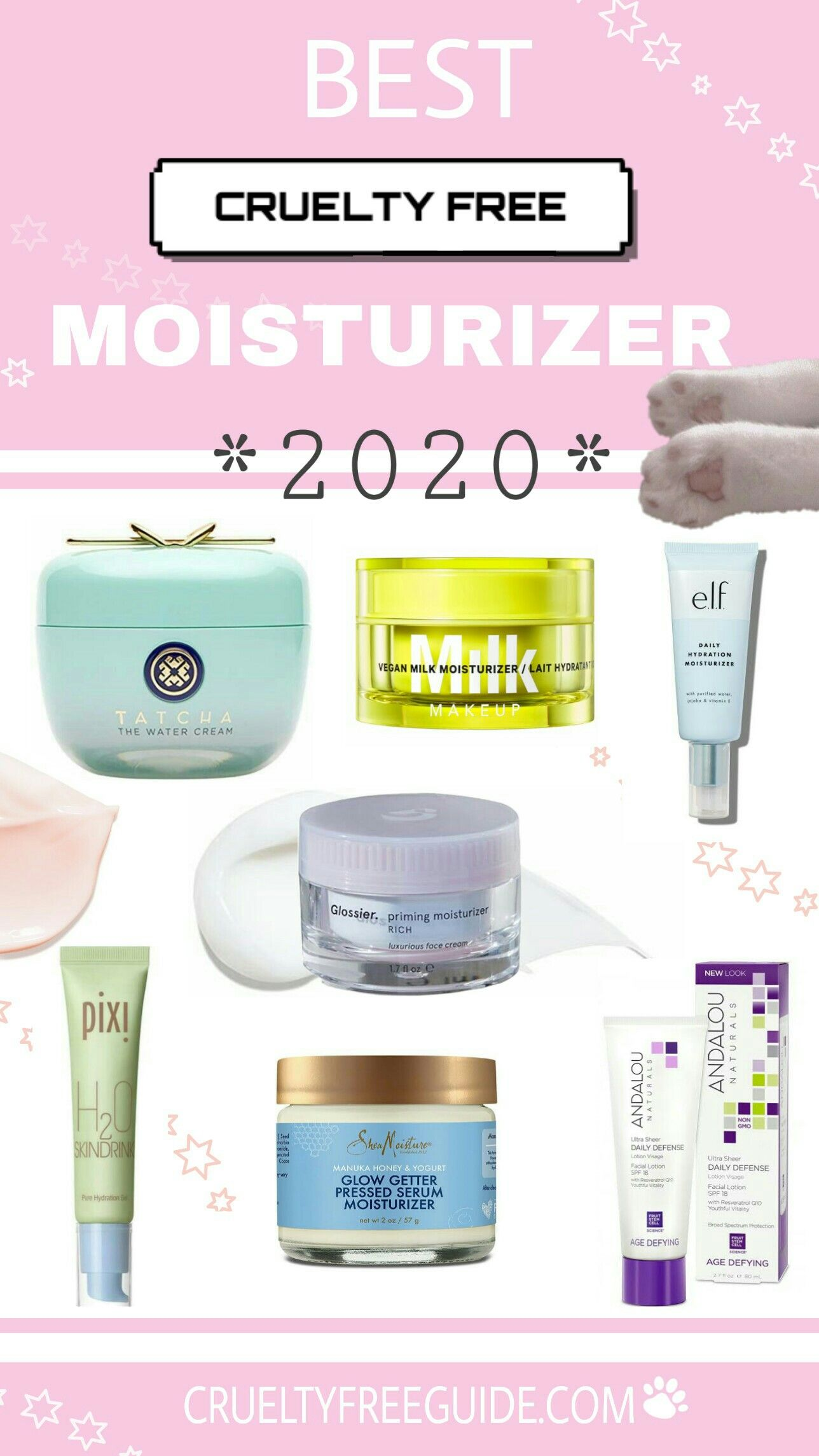 The BEST Cruelty Free Moisturizer in the market?🐷 Many options to choose from..❤ Included Drugstore buy, Vegan options🌲 Is your favourite on there?😊