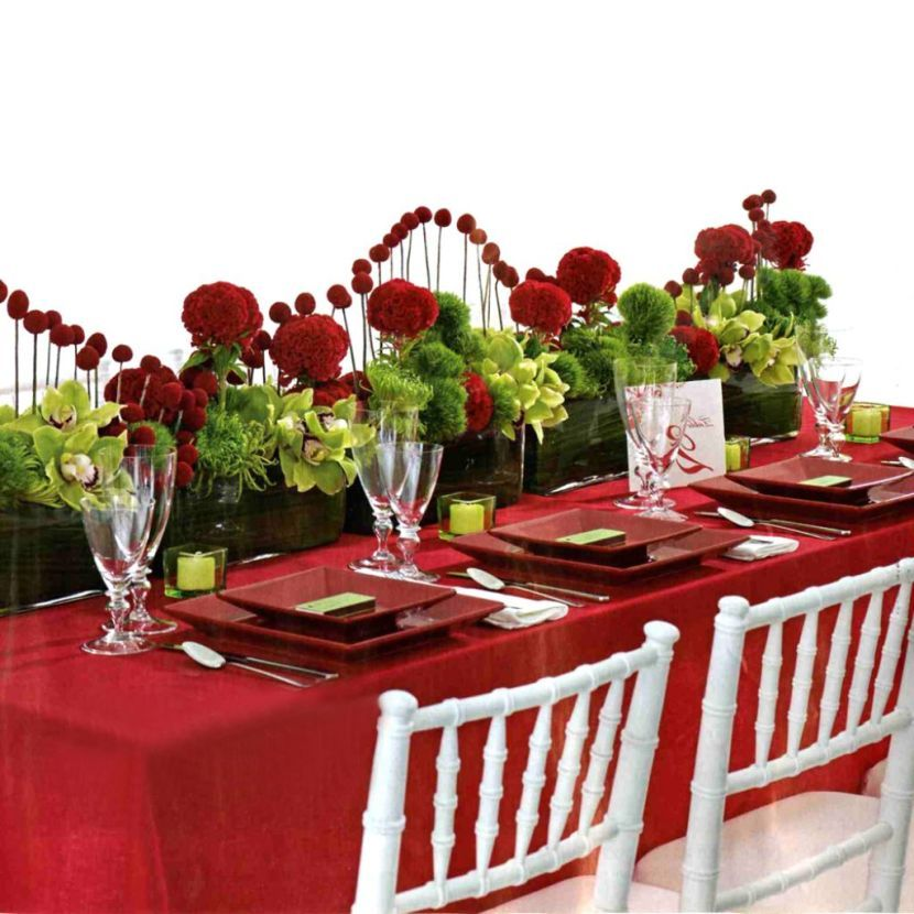 Special Fl Decor On Valentines Table