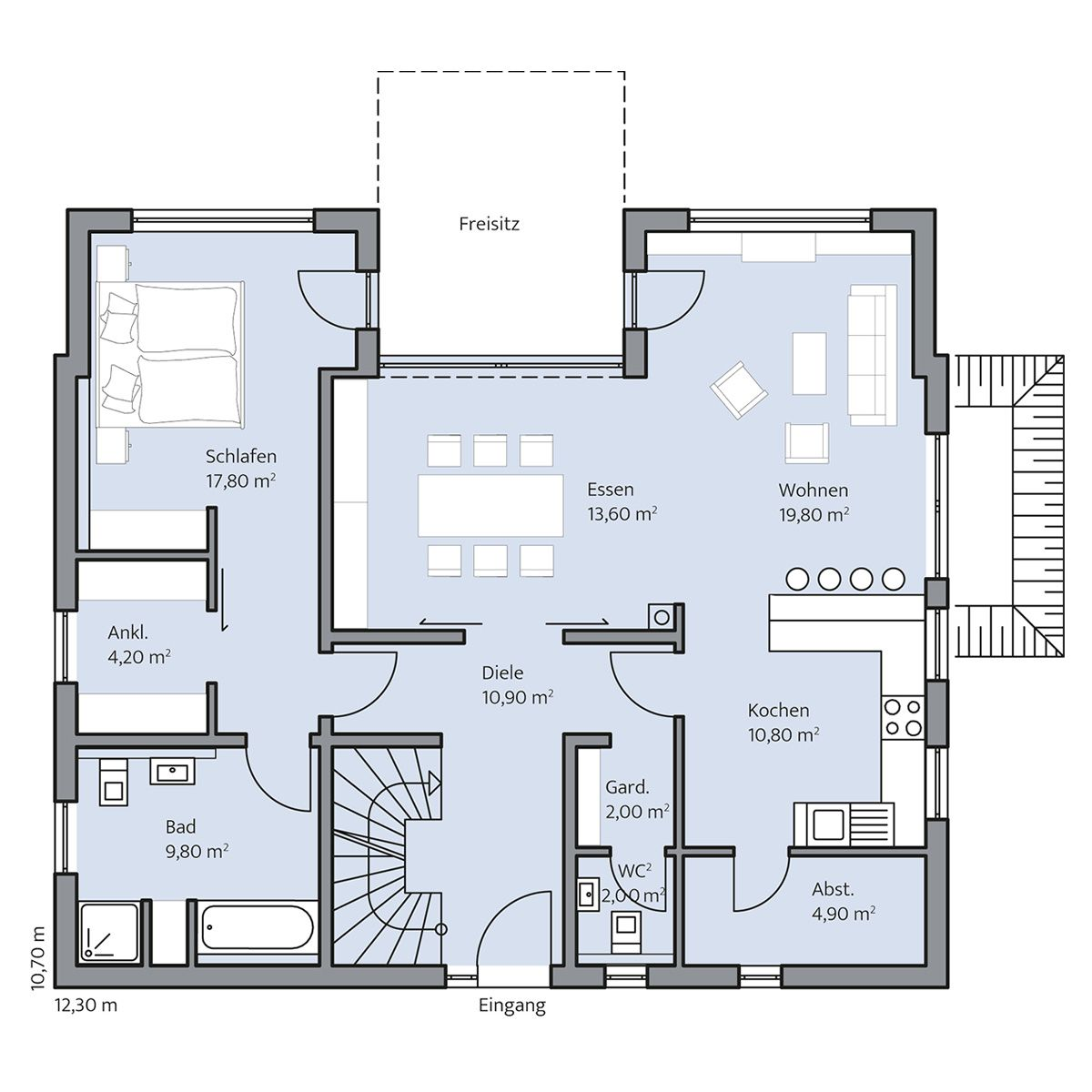 pin von katja morasch auf grundriss zweigeschoss pinterest erdgeschoss grundrisse und. Black Bedroom Furniture Sets. Home Design Ideas