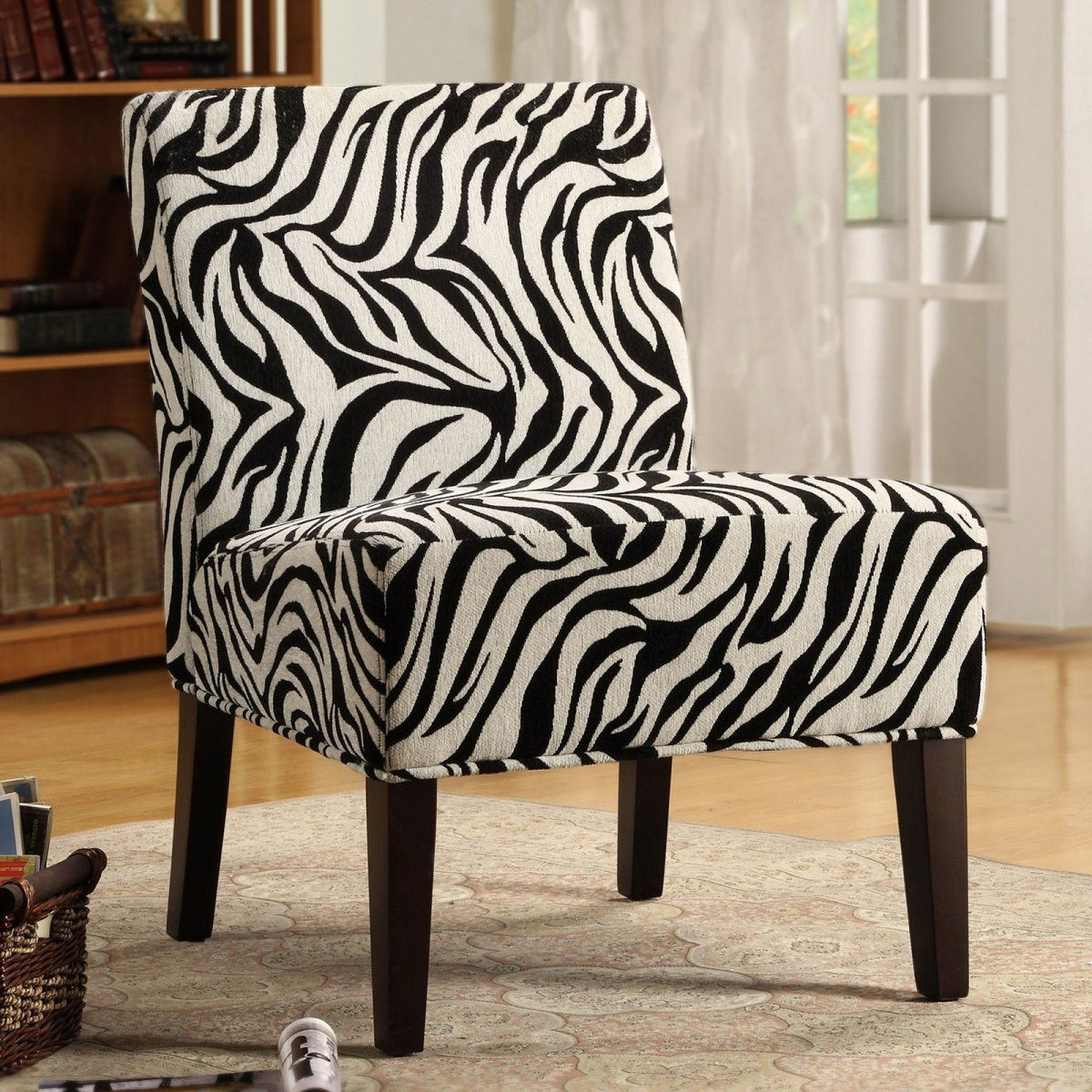 Best Bree Fabric Accent Chair Zebra 179 99 Fabric Accent 400 x 300