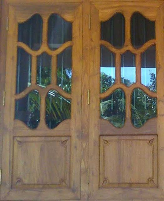 Wood Design Ideas Latest Kerala Model Wooden Window Door