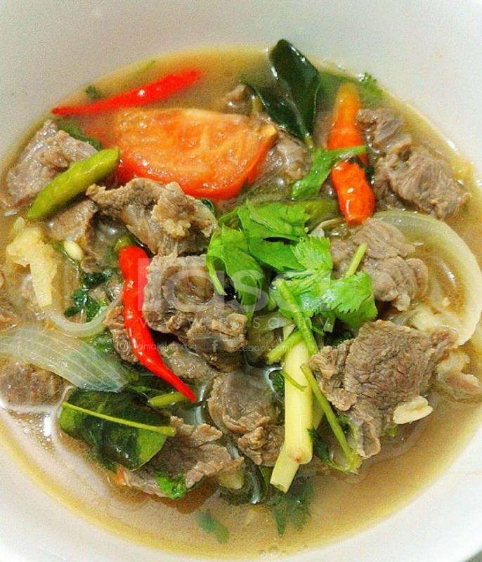 Memang Padu Nak Rasa Resipi Perkongsian Saudara Ahmad Shinoda Ini Boleh Anda Cuba Sup Daging Resep Sup Masakan Thailand
