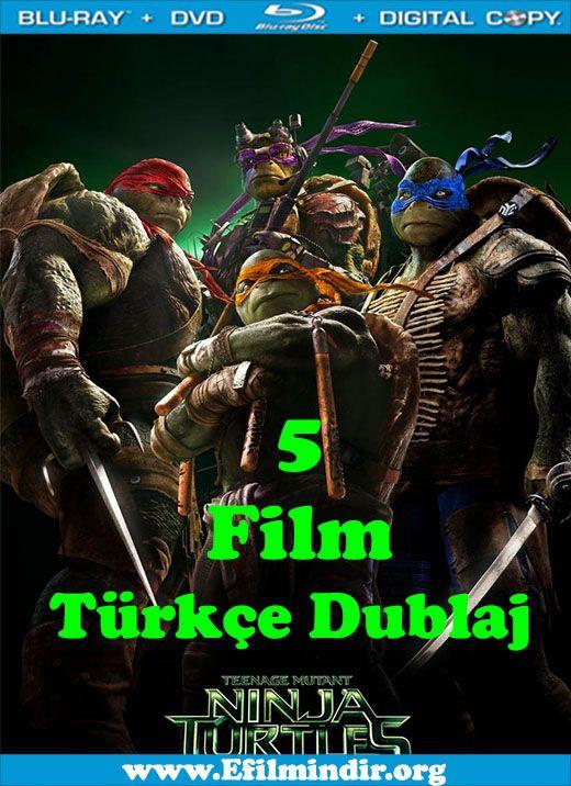 ninja kaplumbağalar 1 2 3 4 5 boxset türkçe dublaj Ücretsiz