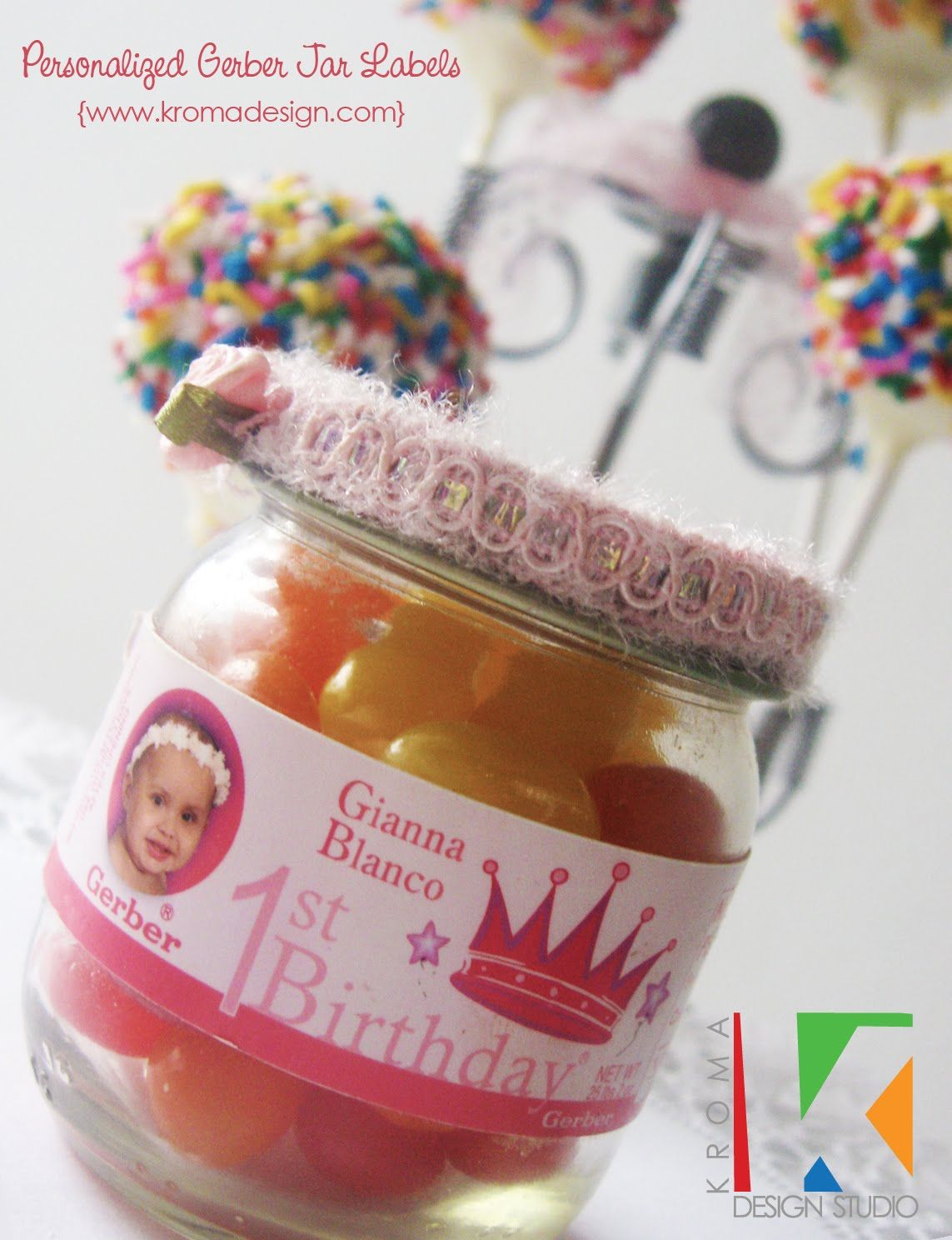 First Birthday Princess Free Printables Diy Favor Ideas