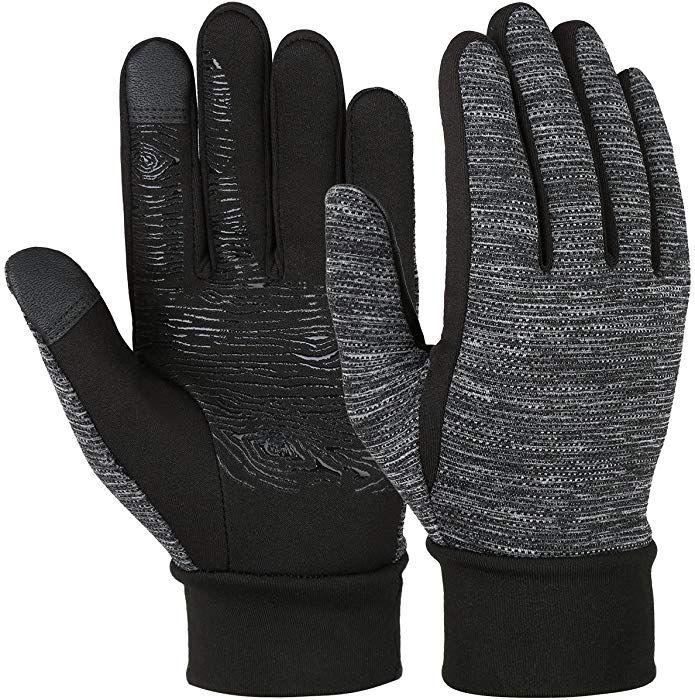 427edafc3a61 VBIGER Gants Hiver Chaud de Sport à écran Tactile pour Homme Femme,Noir,  Noir, M  Amazon.fr  Vêtements et accessoires