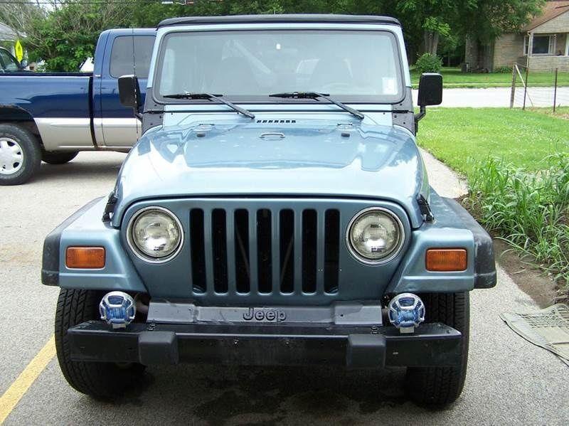 Jeep Newton Illinois Jeep Wrangler For Sale 1998 Jeep Wrangler
