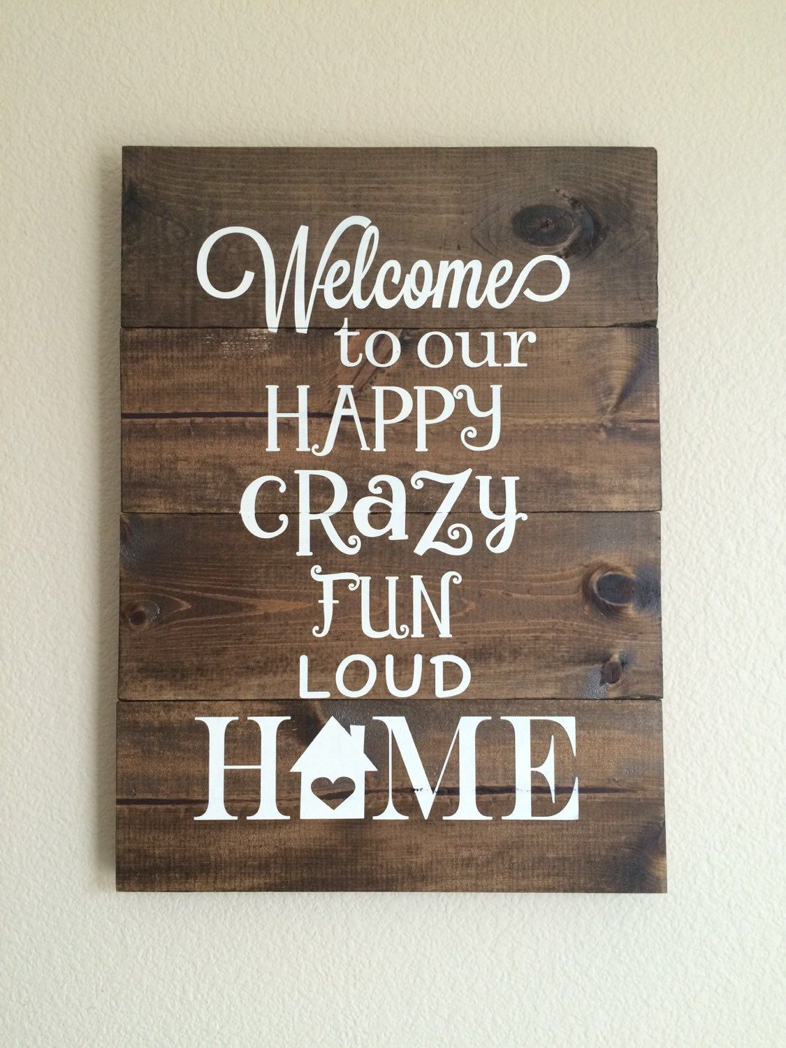 welcome sign wood sign pallet sign welcome to our home hand