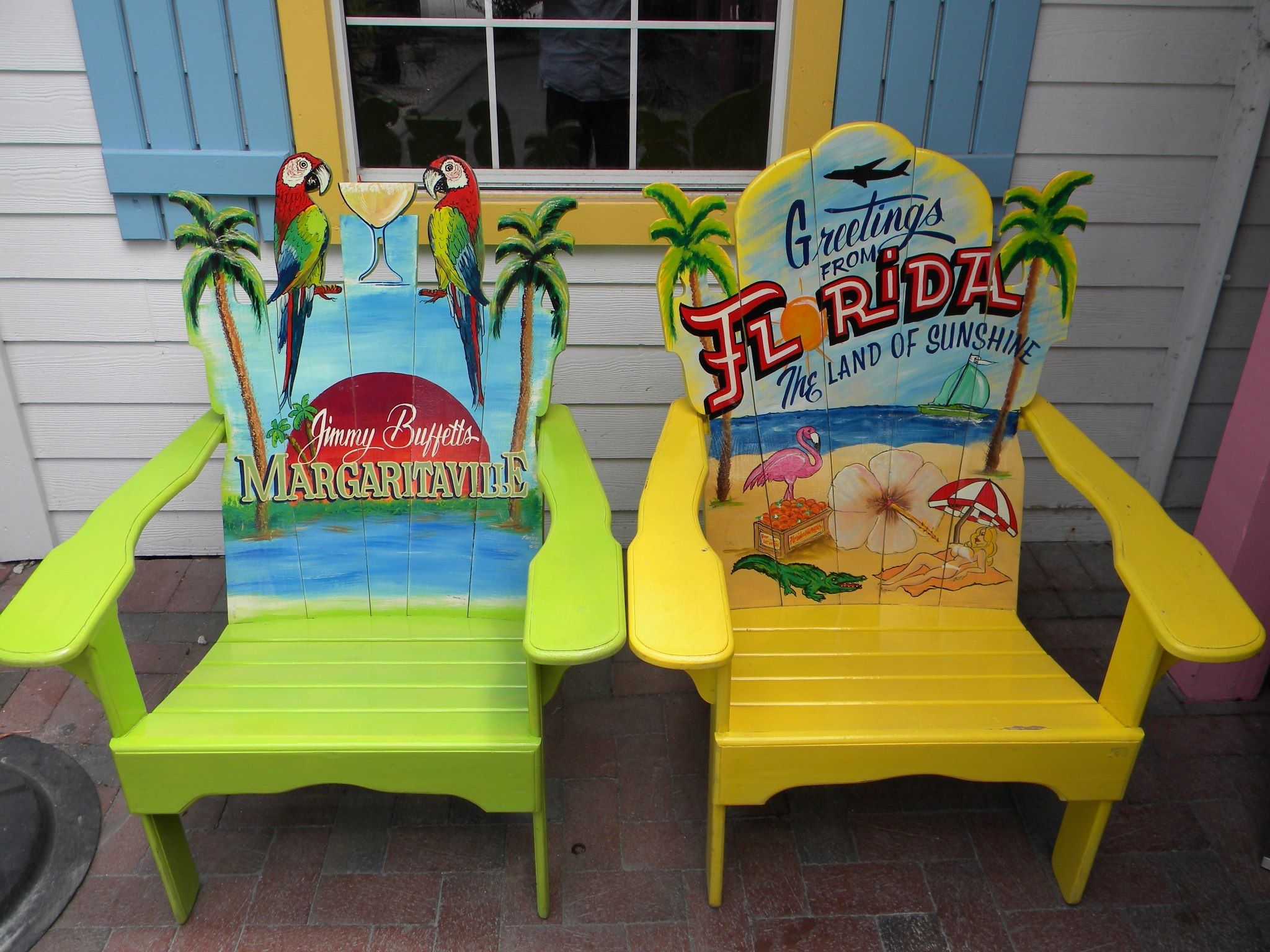 Margaritaville. I Really Want These Chairs