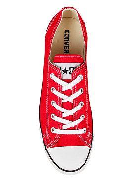 converse rojos bota mujer