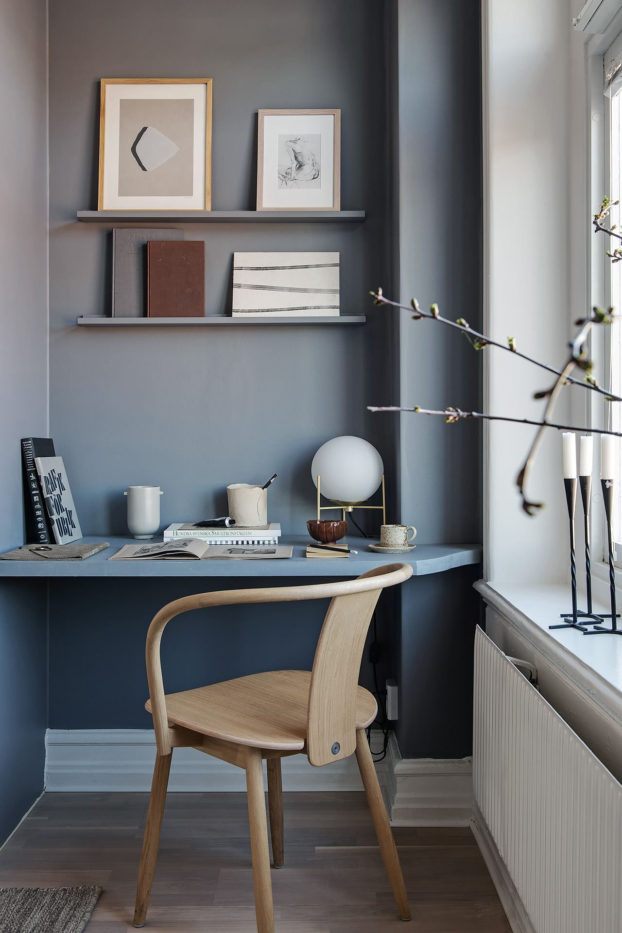 Photo of Home in soft grey and natural tints