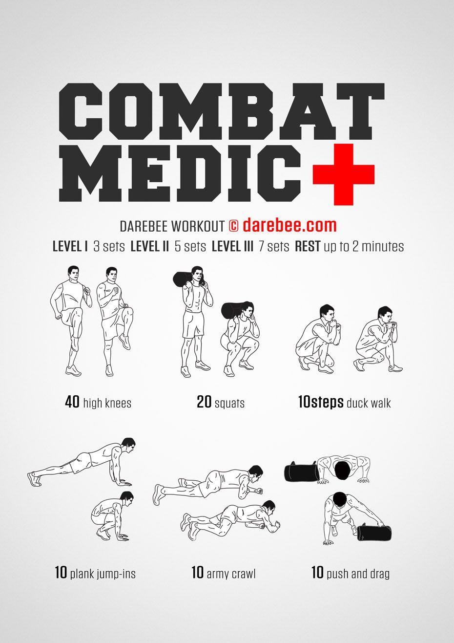 Combat Medic Workout Military Workout Sandbag Workout Combat Medic