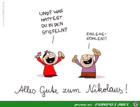 Sprüche Nikolaus #adventlustigerster