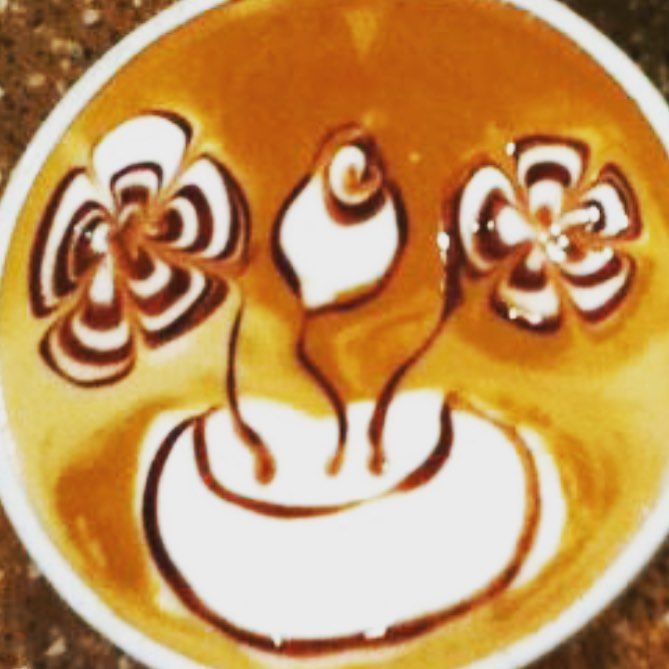 Flower potter. #flower #beautiful #latteart #latte #espresso #espressosteam #espressoart #craftcoffee #coffeeart #coffeeroaster #coffee #coffeetime #coffeelover #coffeeaddict #coffeeshop #cafe #caffeine #lattemacchiato #baristalife #coffeegram #coffeeporn #barista #latteartgram