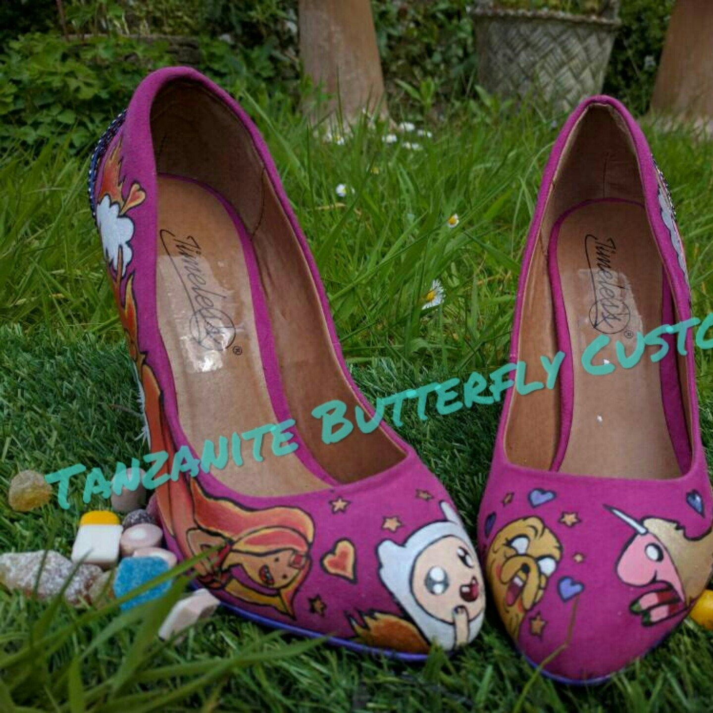 Adventure Time Love Shoes up for sale!
