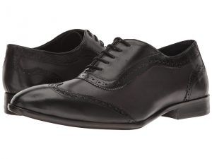 Messico Paterno (Black Patent/Burnished Grey Leather) Men's Shoes