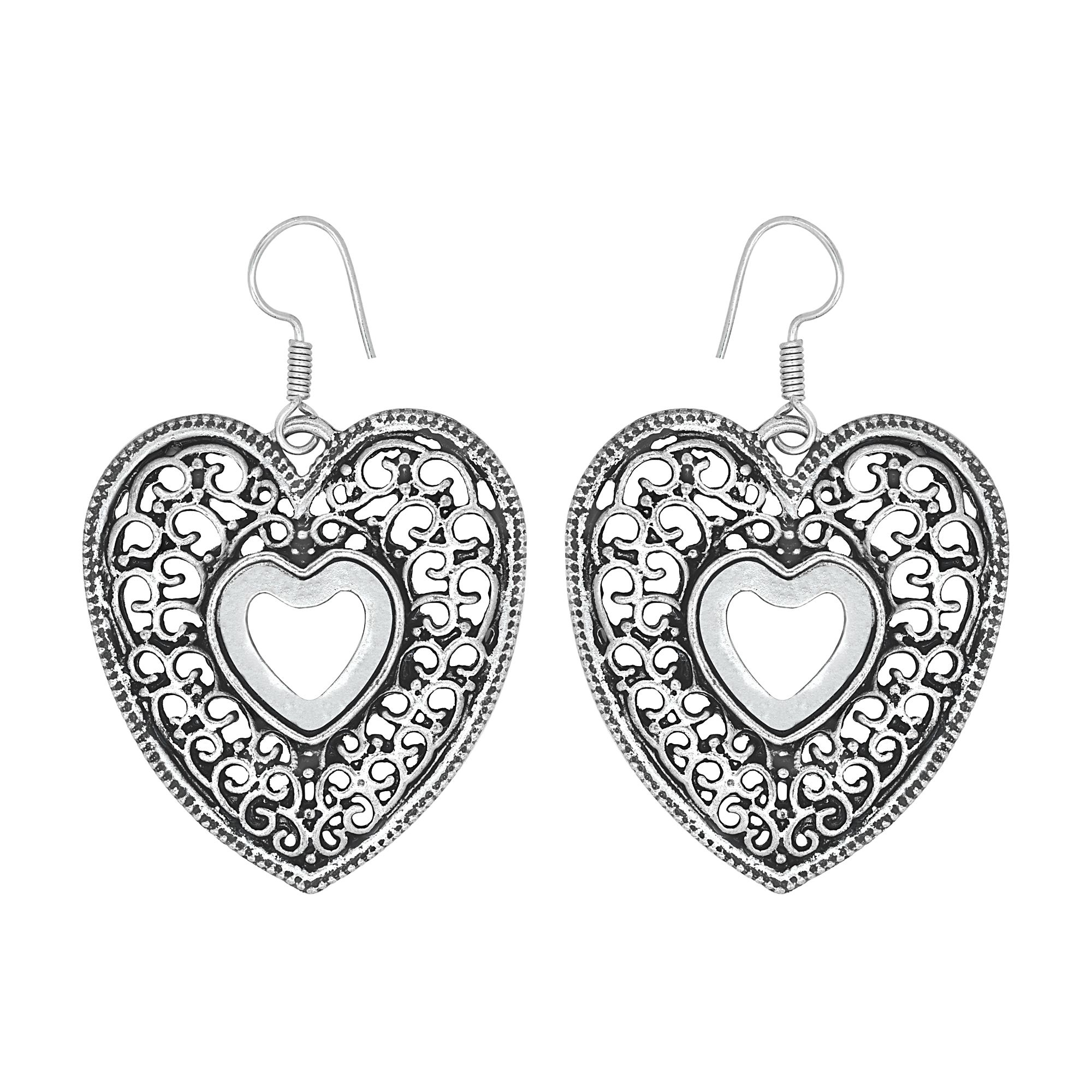 diamond sylvie jewelry heart earrings shape platinum product shaped