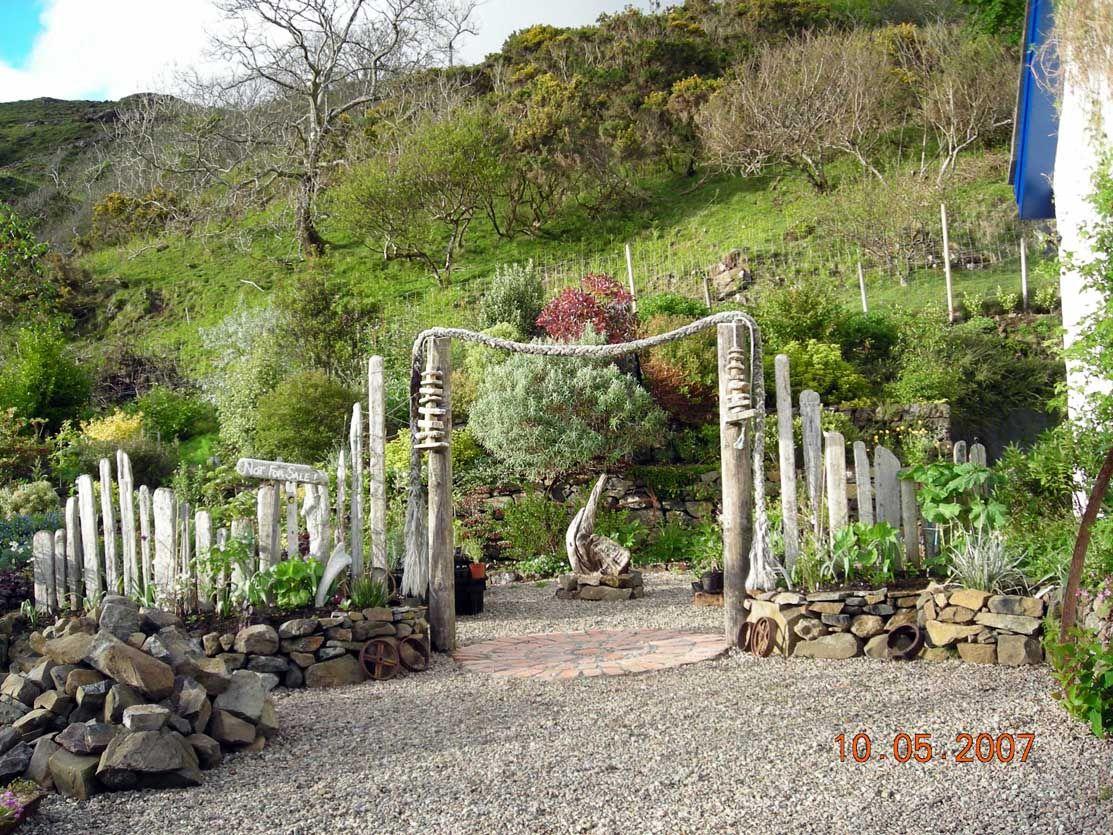 Driftwood Arch At Lip Na Cloiche