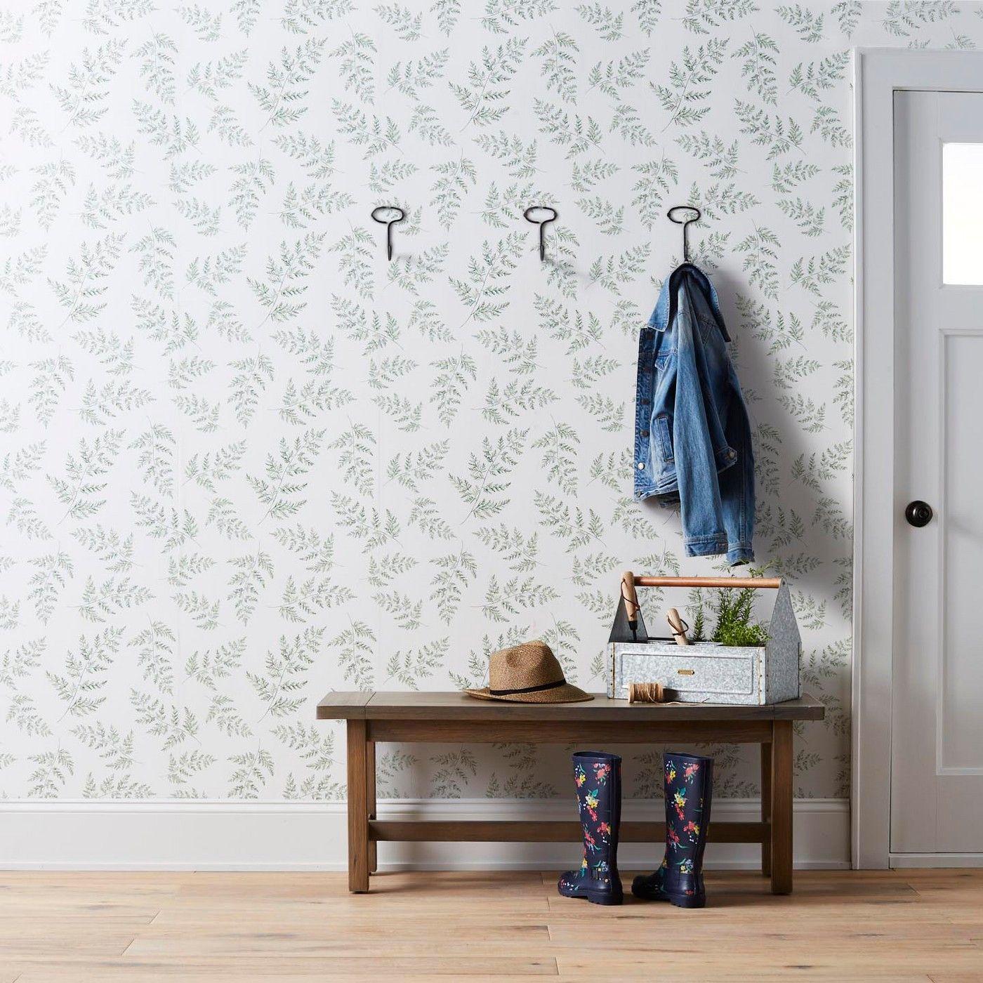 Wallpaper Fern Print Hearth & Hand with Magnolia Home