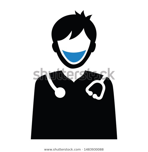 Pin By Nvector On Icon Male Doctor Stock Illustration Illustration